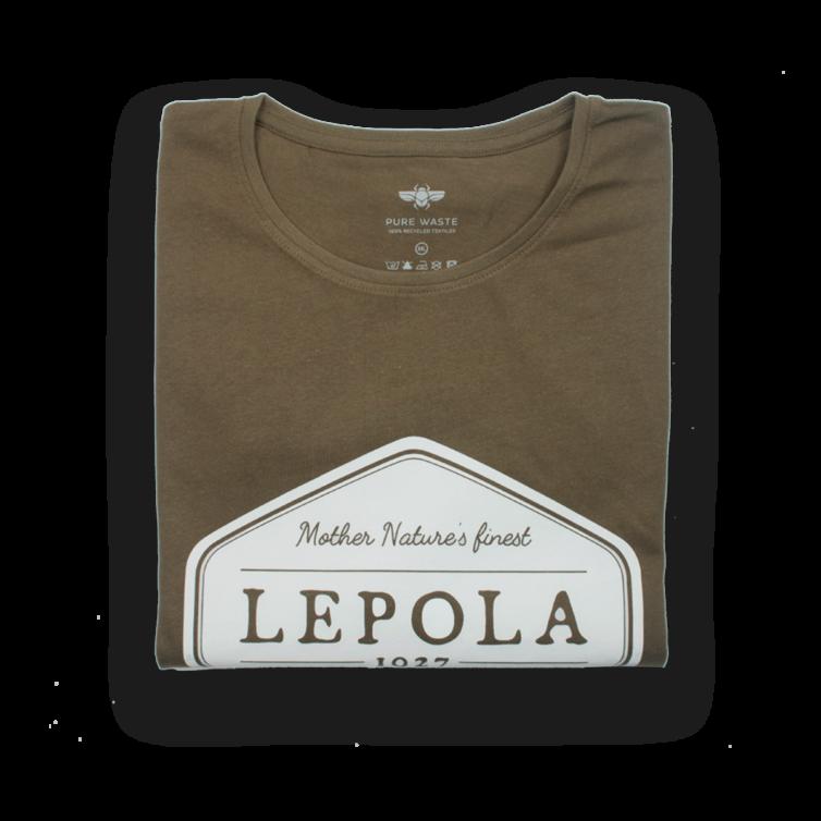 Lepola t-paita khakin vihreä